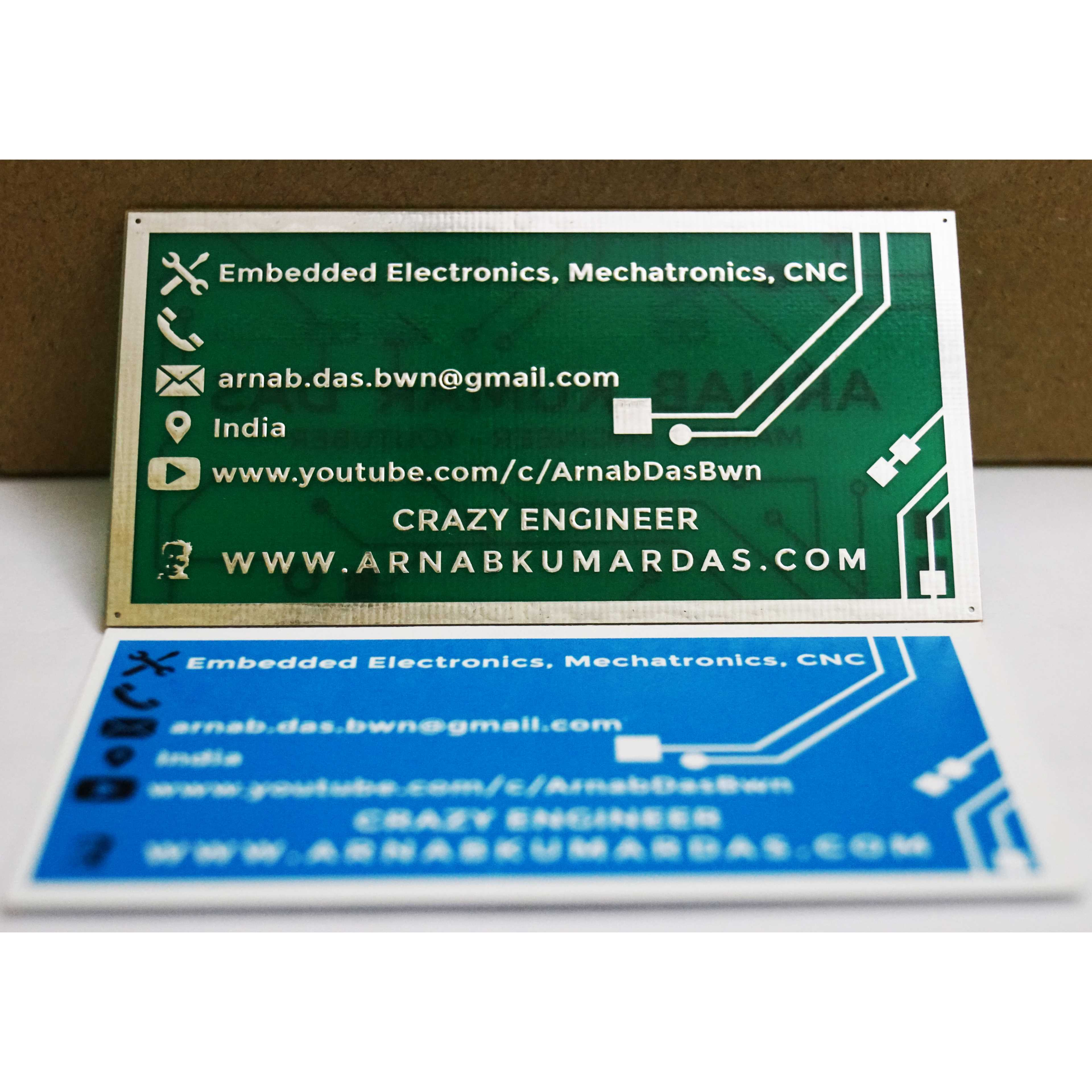 Crazy engineers pcb business card electrical electronics crazy engineers pcb business card with the paper version colourmoves