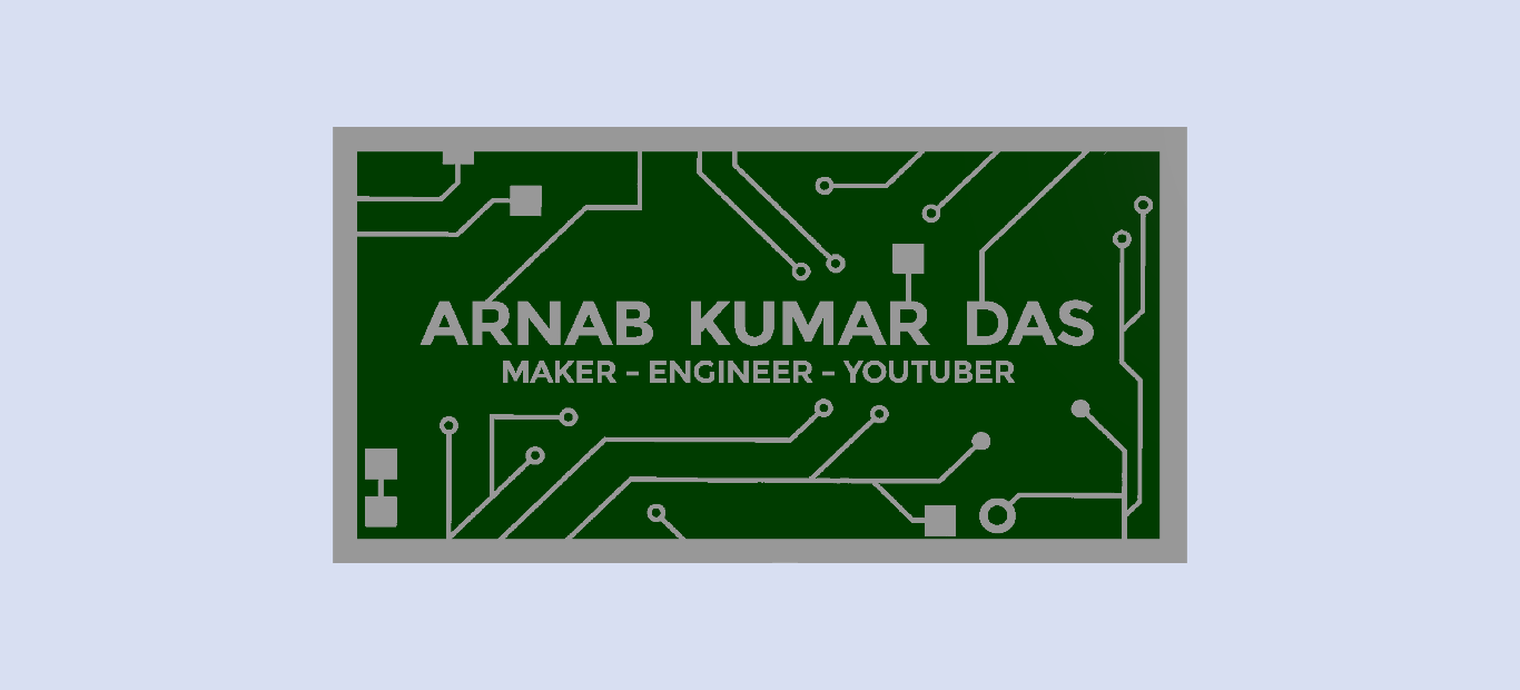 Pcb Business Card For Electrical Electronics Engineer Arnab Das Layer Circuit Board Maker Micro Camera Buy Render Of Top