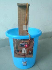 Electronics of the IOT Smart Bin