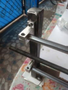 End Post for Linear Guides of DIY CNC Router