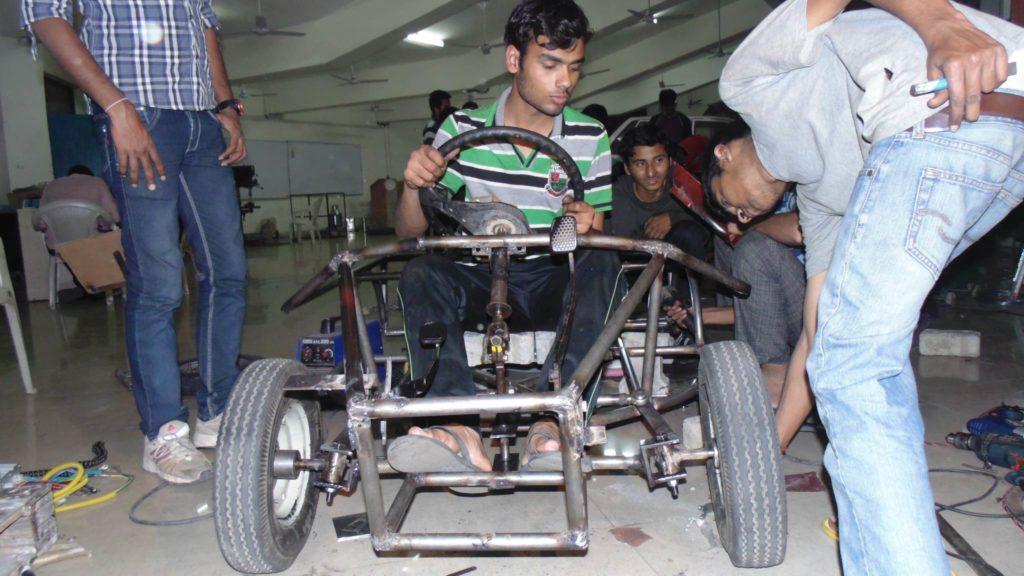 Solar Go-Kart Steering Testing