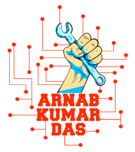 ArnabKumarDas Logo Colour