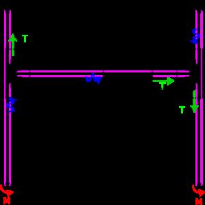 H-Bot Belt Routing of Arduino CNC Drawing Machine