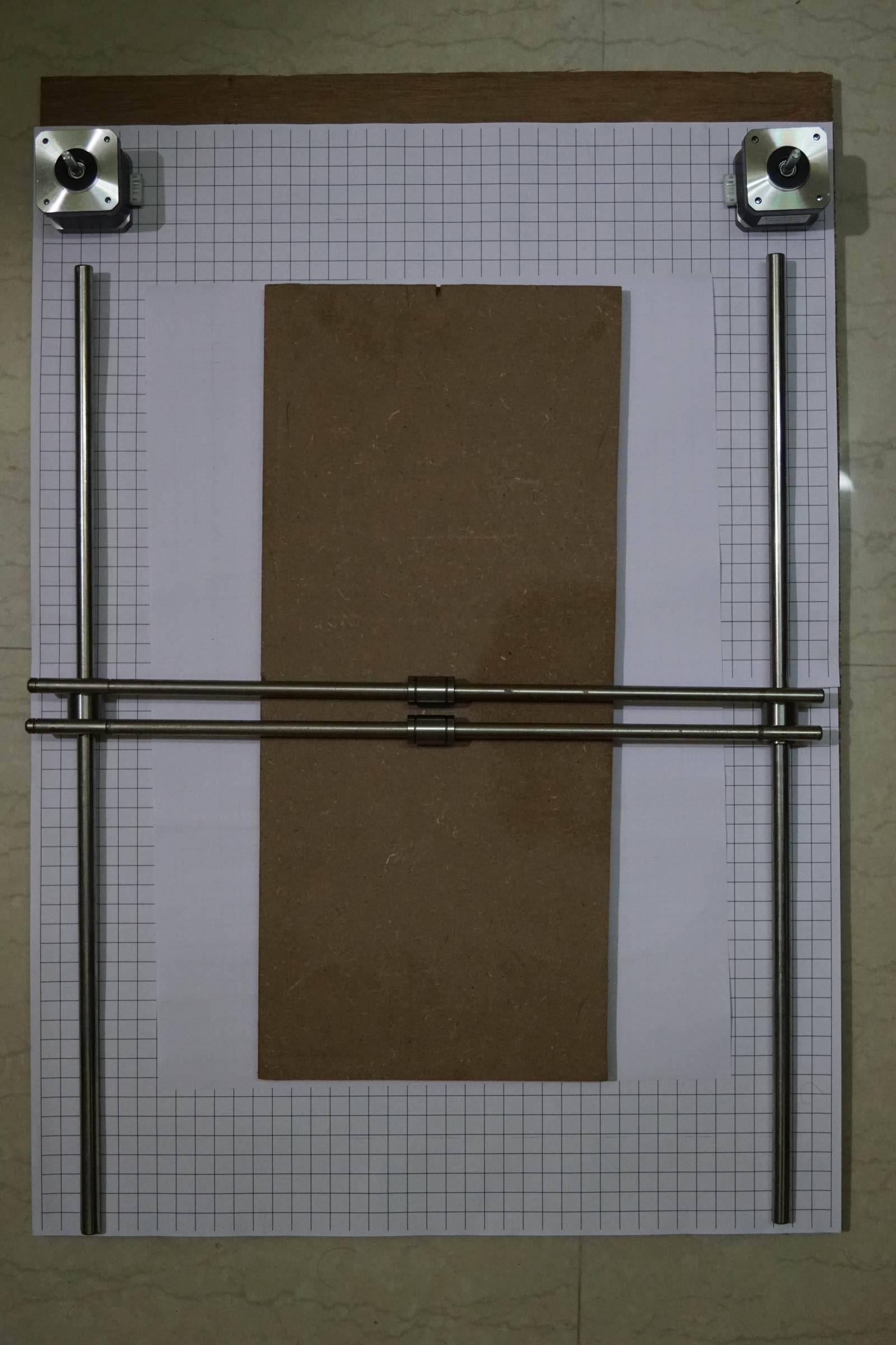 Mockup of Arduino CNC Machine