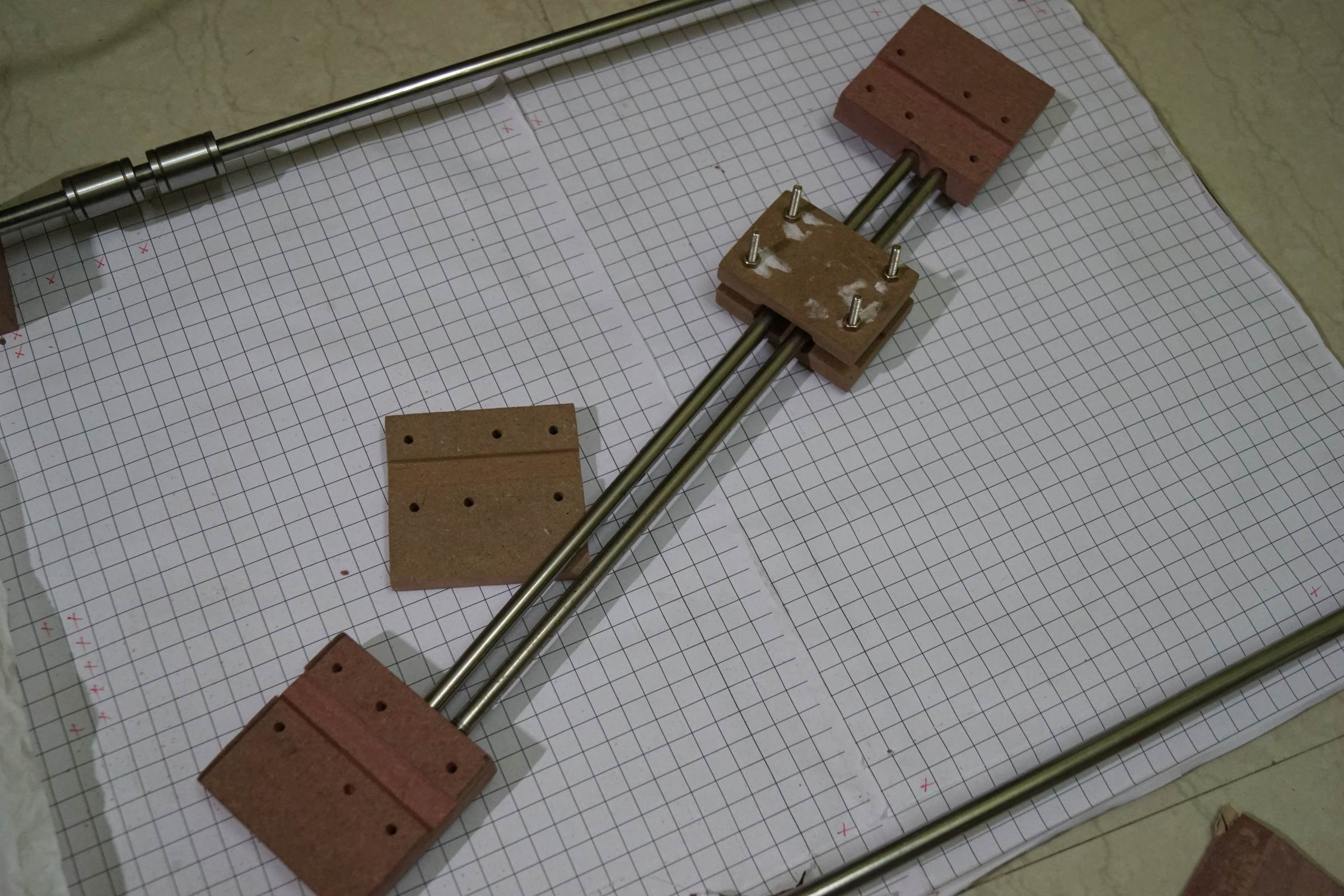 Assembelled X Axis of Arduino Drawing Machine