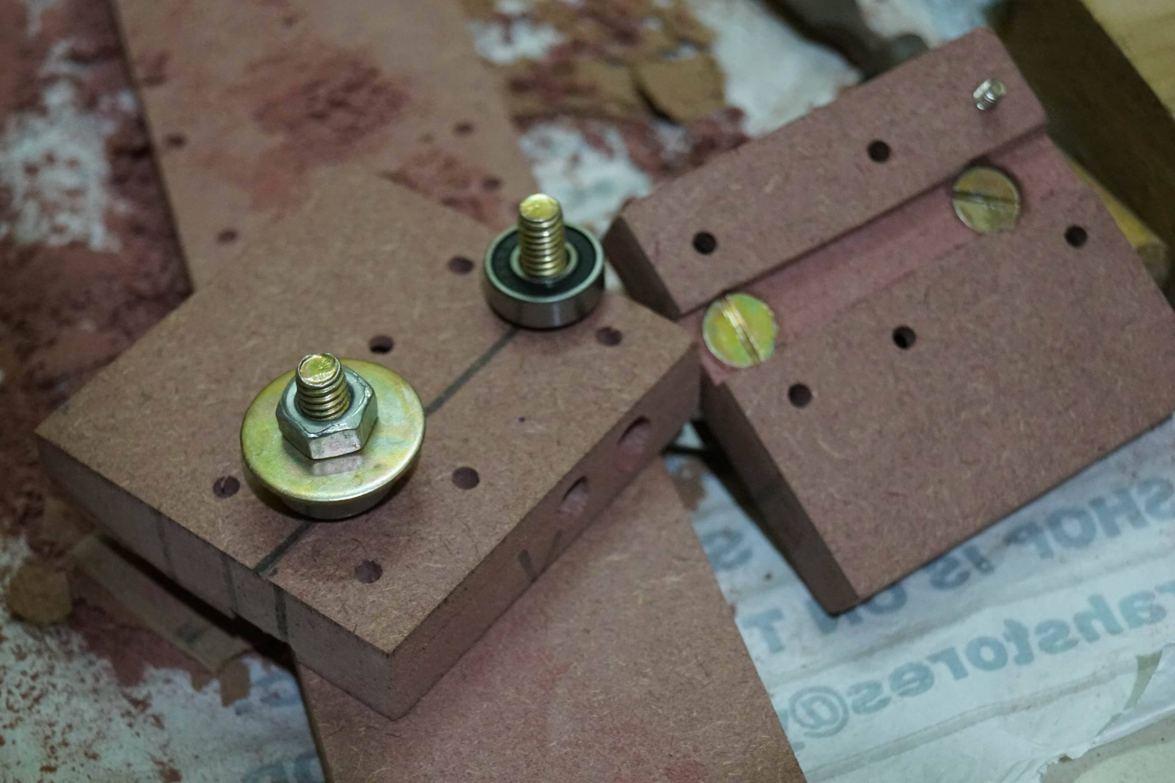 X Axis End Plates for Arduino Drawing Machine