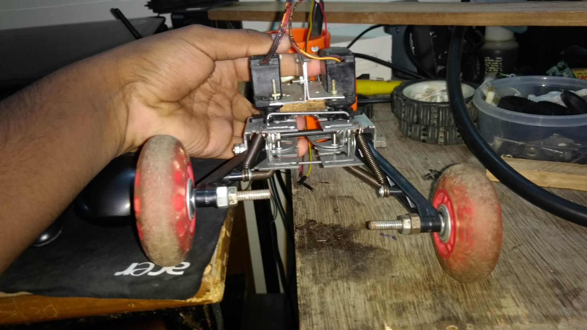 DIY RC Car Steering