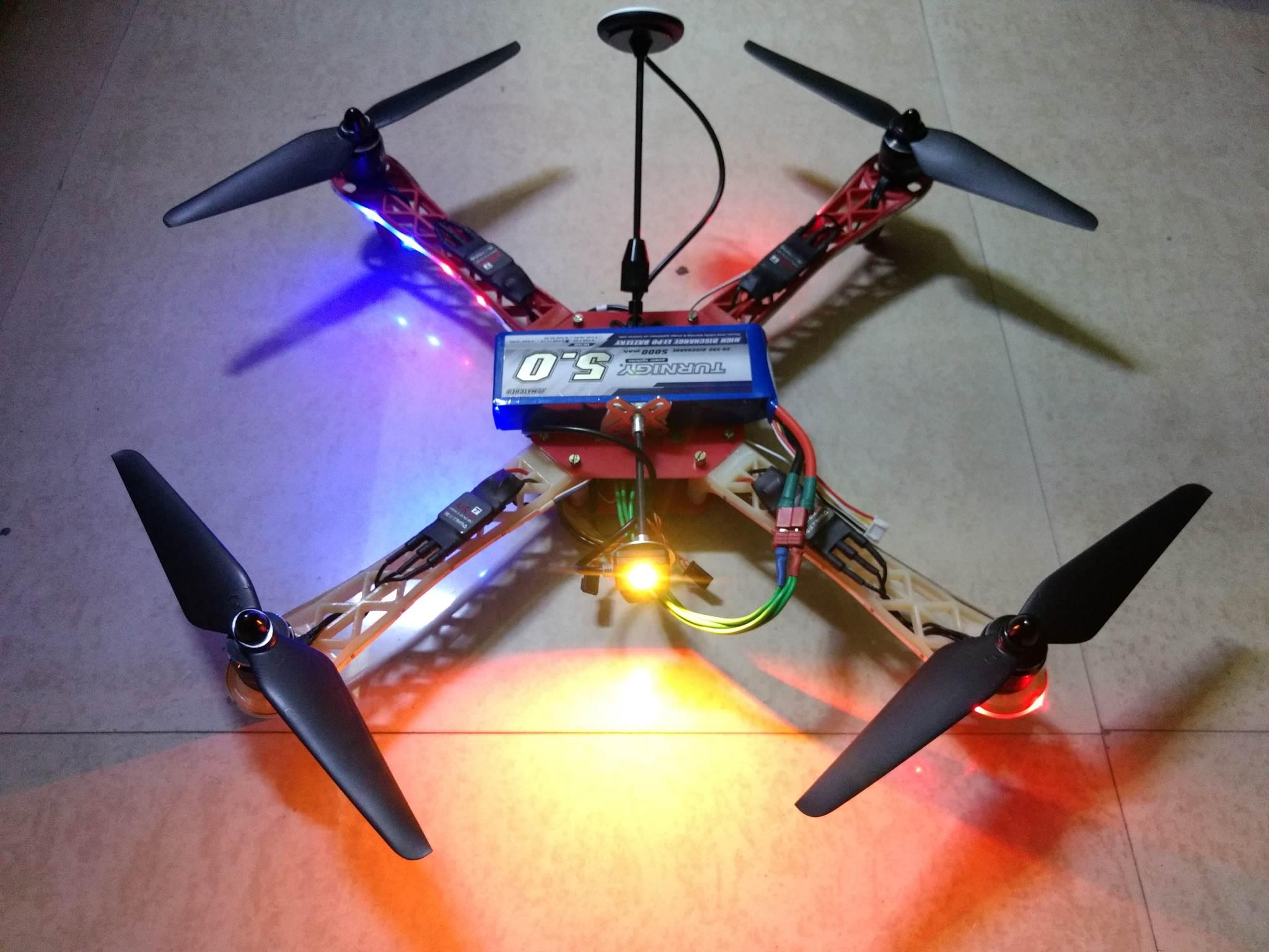 Calibration of Quadcopter