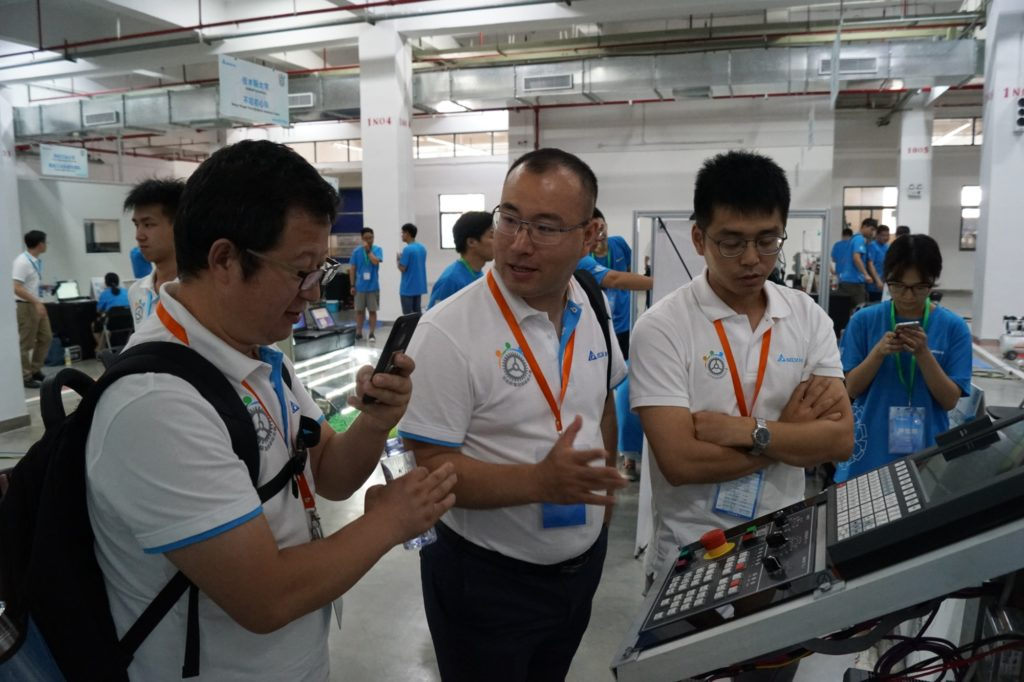 Judges at Delta Automation Challenge