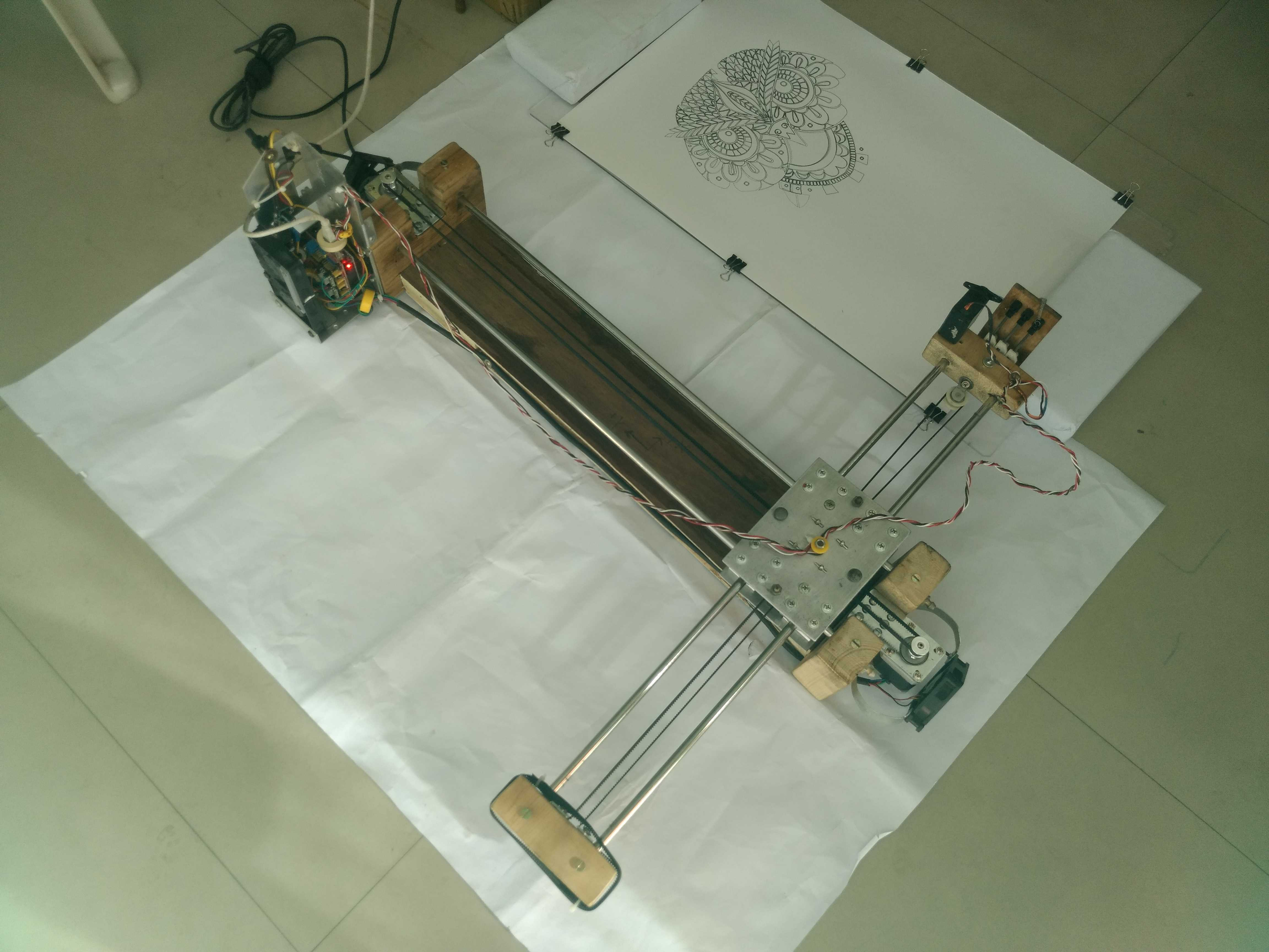 Arduino Drawing Machine