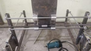 Y Axis with Linear Guide of DIY CNC Router
