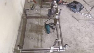 Top View of DIY CNC Router