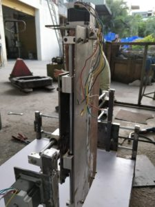 Z Axis DIY CNC Router close-up