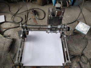 DIY CNC Router Top View