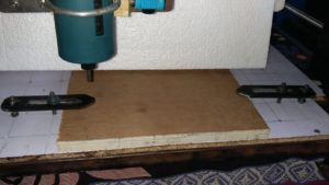 Wood Engraving on DIY CNC Router