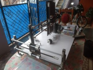 DIY CNC Router Motor Assembly