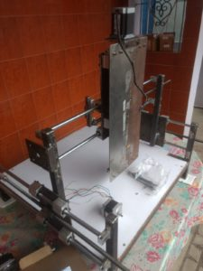 DIY CNC Router Assembly