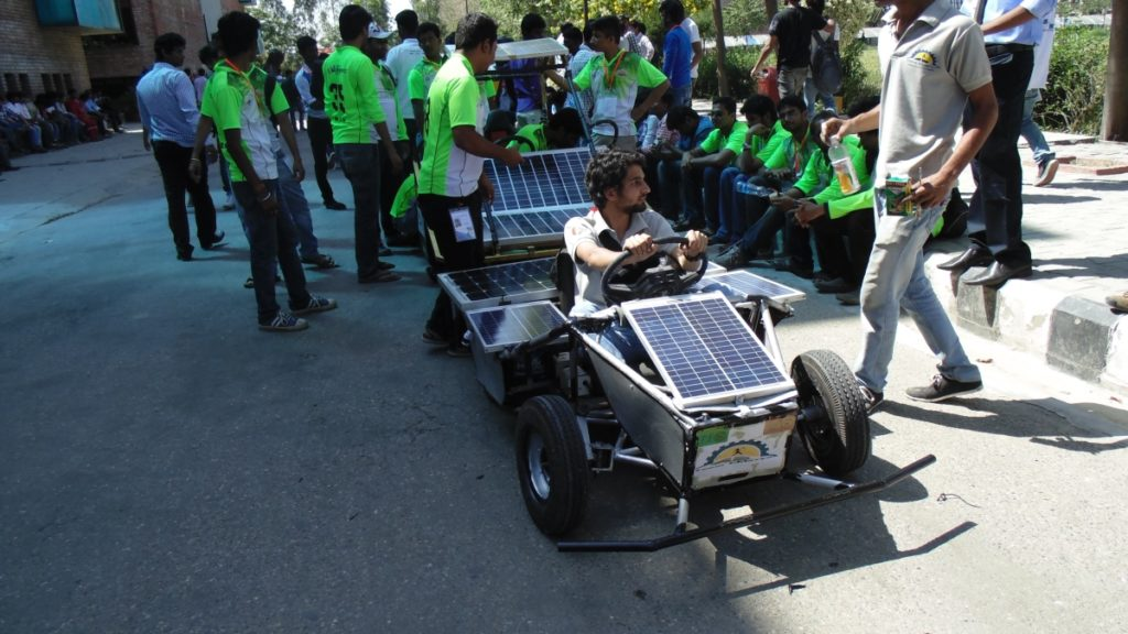 Other Teams of Solar Go-kart competition