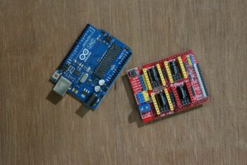 Arduino Uno and CNC Shield V3