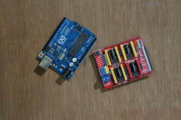 Arduino Uno and CNC Shield V3