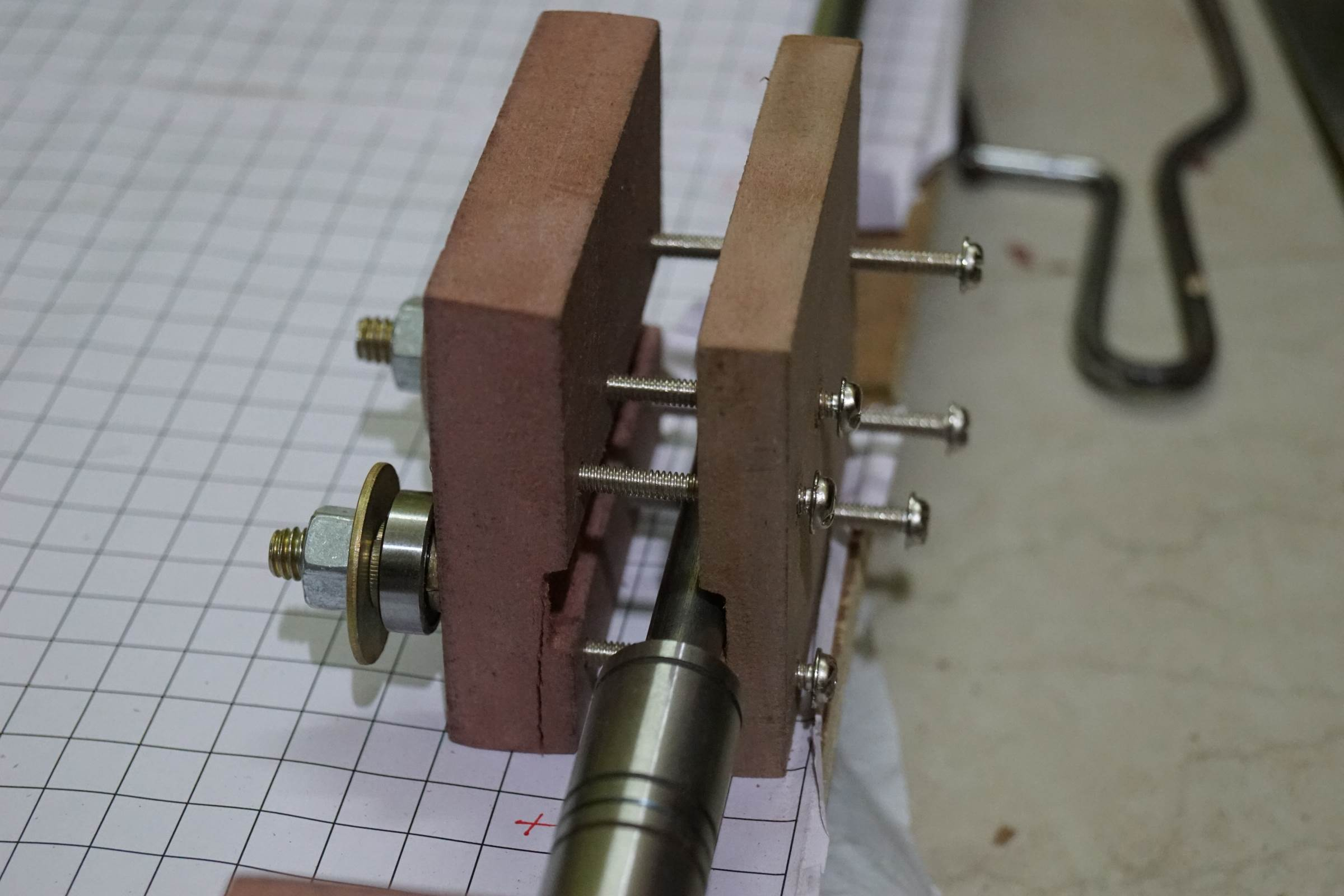 Assembling the X Axis End Holders
