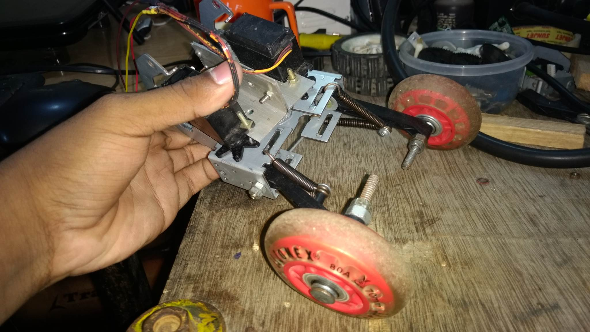 DIY RC Car Steering