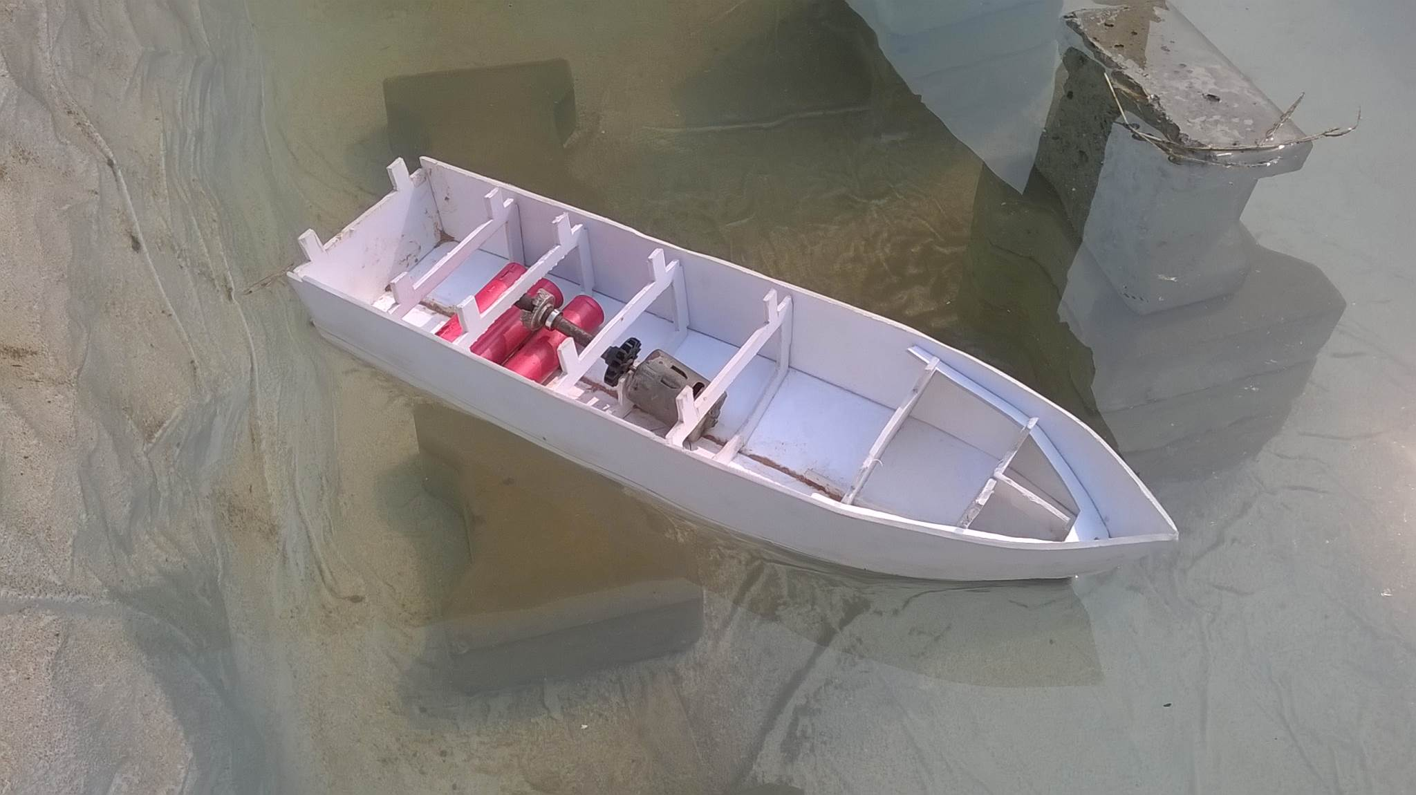 How to make an RC Boat with Brushed DC Motor?
