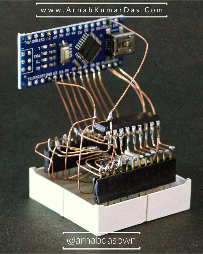 Arduino Circuit Sculpture / FreeForm Circuit