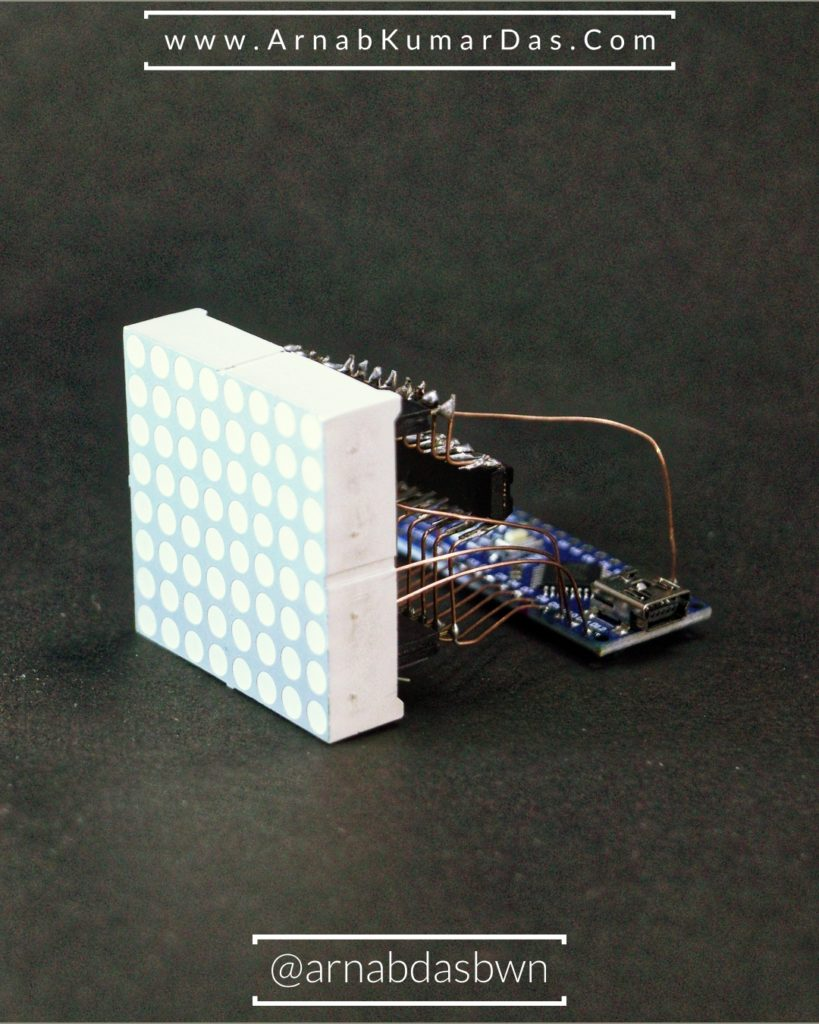 Arduino 8 x 8 LED Matrix Tutorial