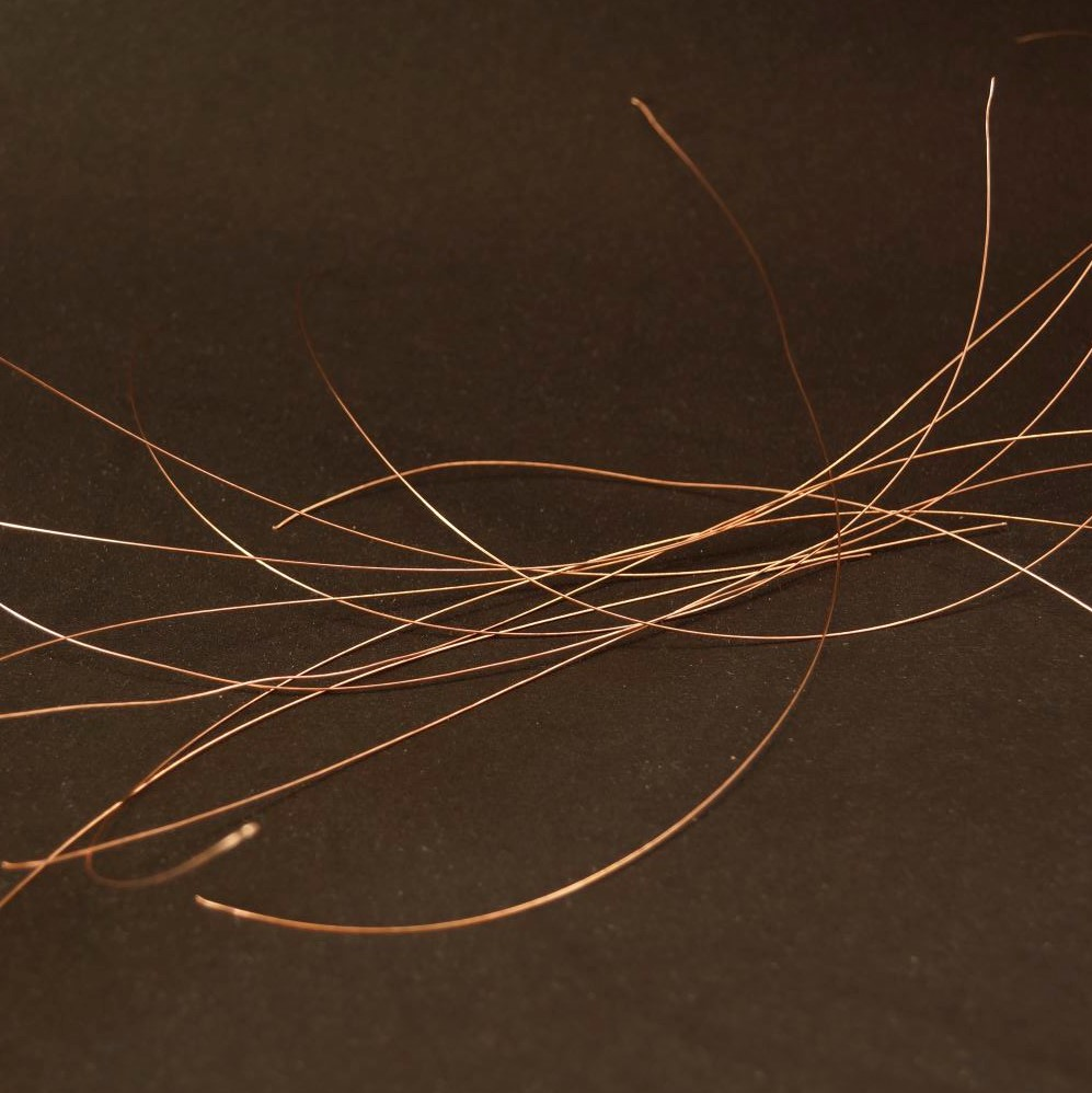 24AWG Non-Insulated Copper Wire