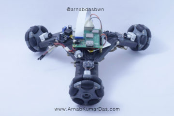 Pipe Climbing Robot Arm Adjusted