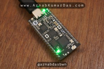nRF52840 Running Blinky Program