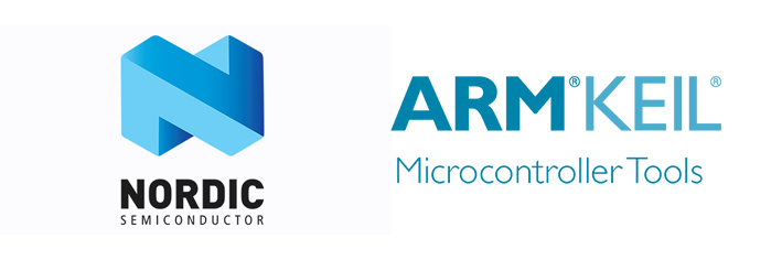Nordic Semiconductor and ARM KEIL Build and Flash Toolchain