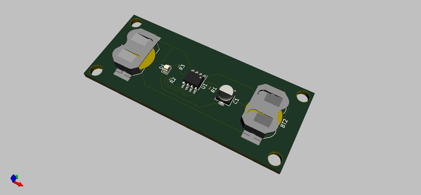 555 Timer LED Flasher v1.0