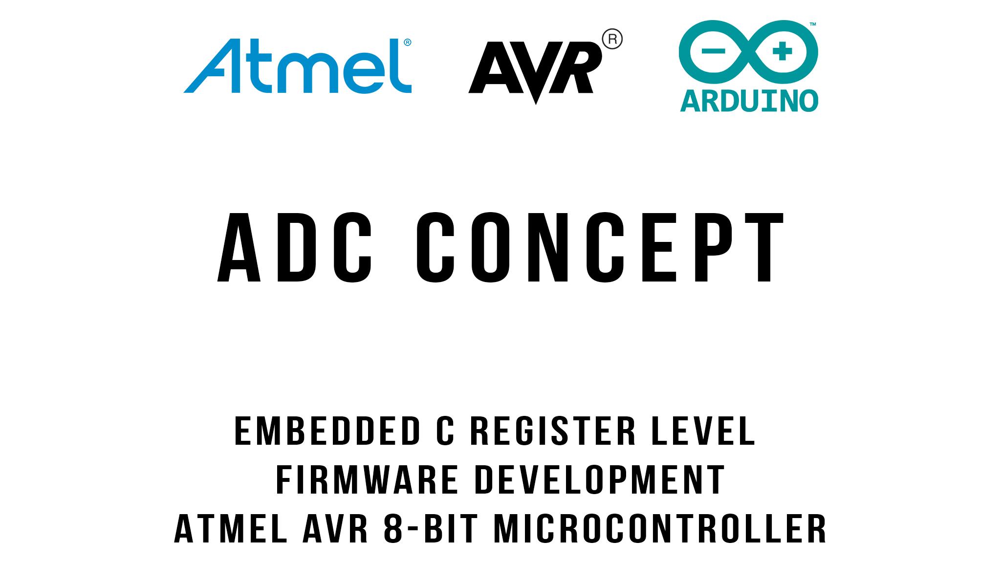 ADC Concept : Arduino / ATmega328p
