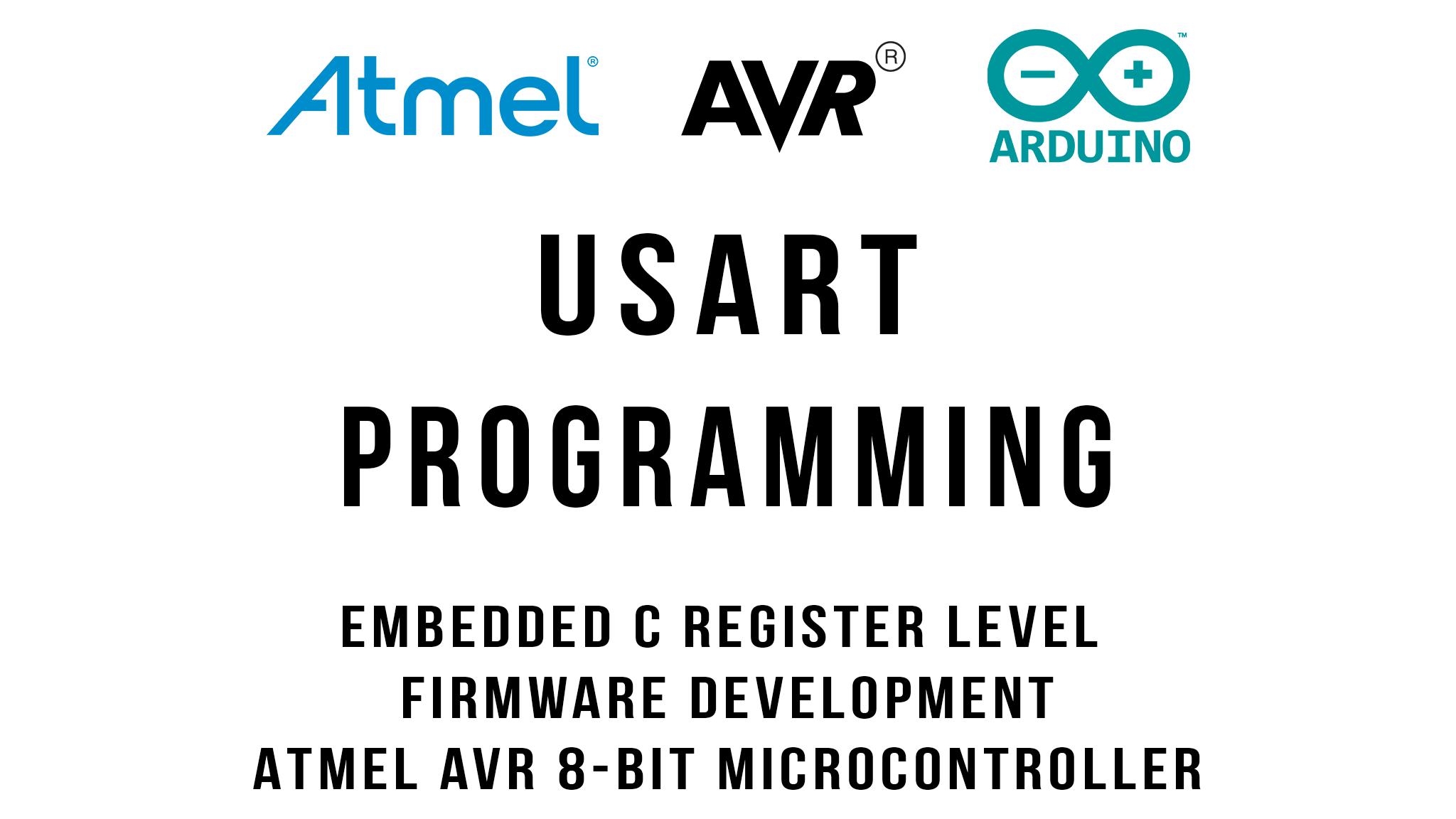 USART Programming Tutorial