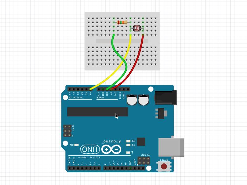LDR / Light Sensor Interfacing with Arduino UNO