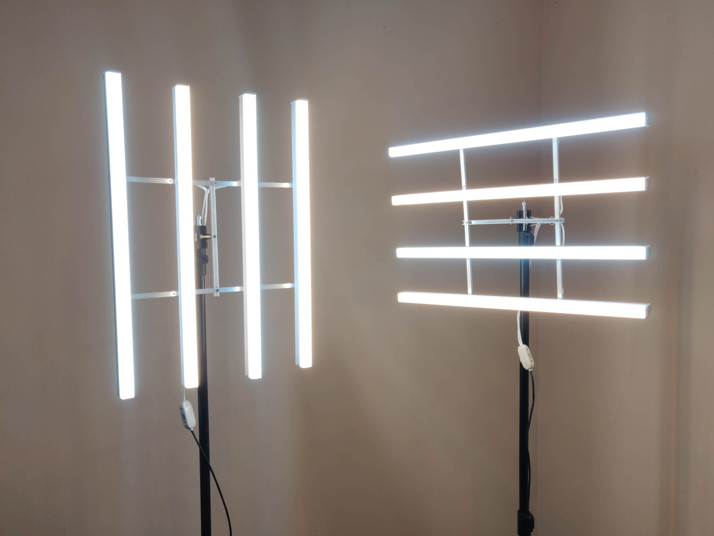 DIY LED Light Panel for Video Mounted on Light Stand / Tripod