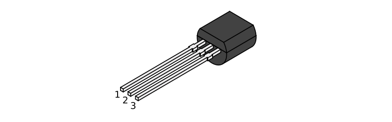 LM355 TO-92 Package Pin Out / Configuration