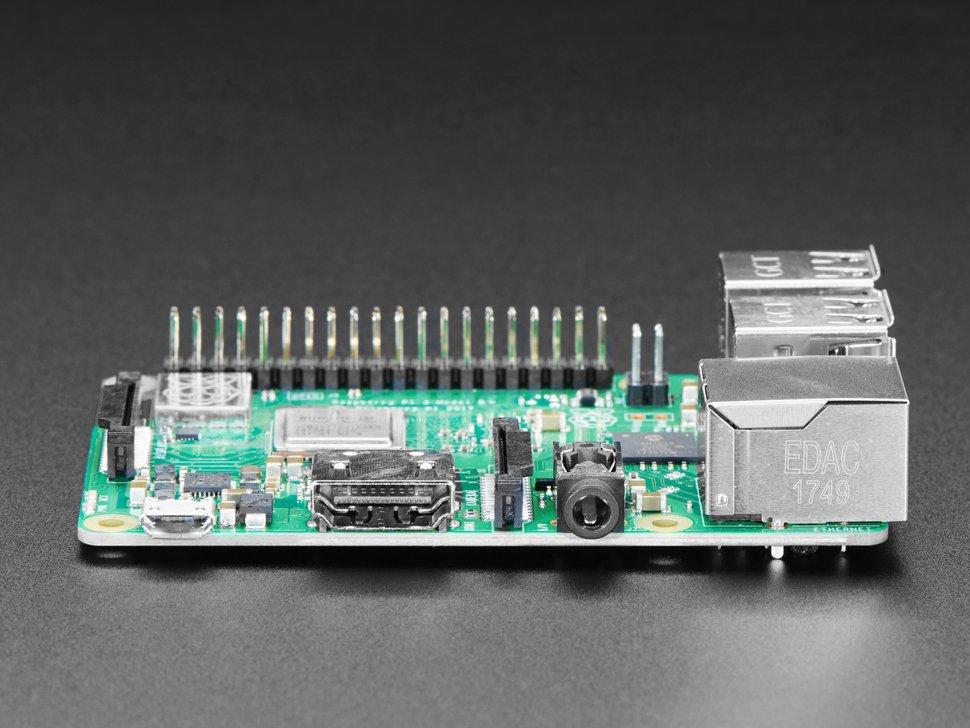 Raspberry Pi 3 Model B+ Ports