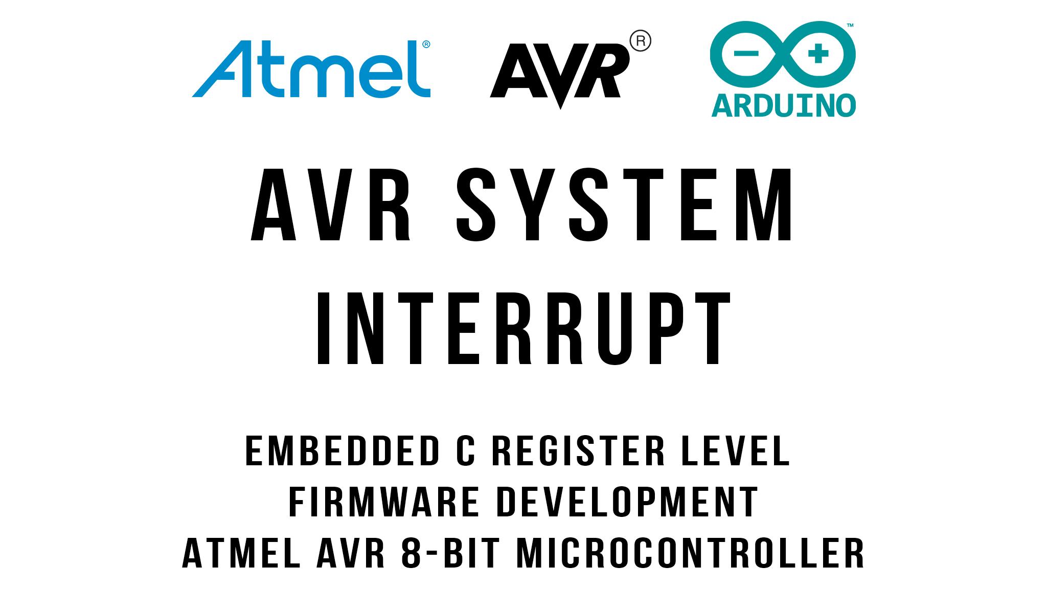 AVR Architecture Internal and External Interrupt