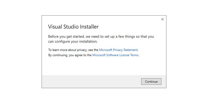Step 1 : Installing Build Tools for Visual Studio 2019