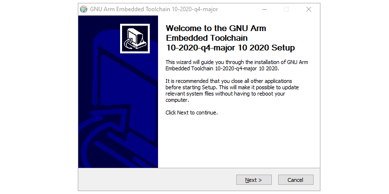 Step 1 : Installing ARM GCC Compiler