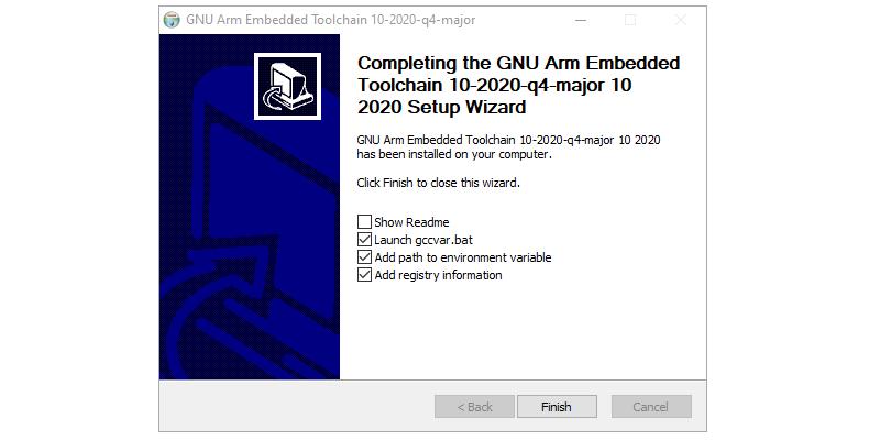 Step 4 : Installing ARM GCC Compiler