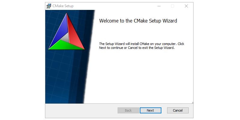 Step 1 : Installing CMAKE