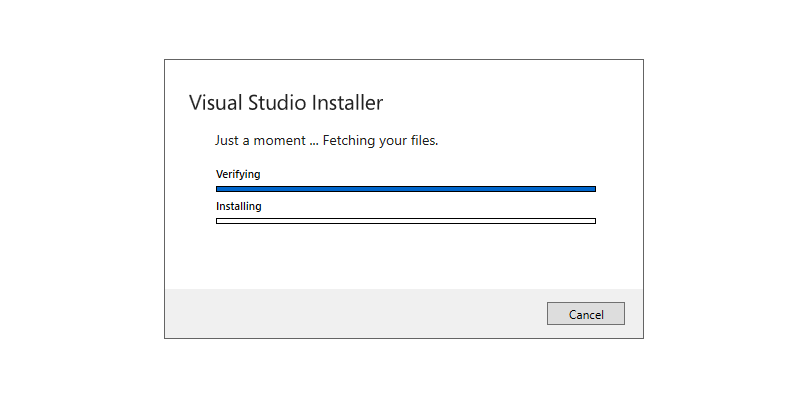 Step 2 : Installing Build Tools for Visual Studio 2019