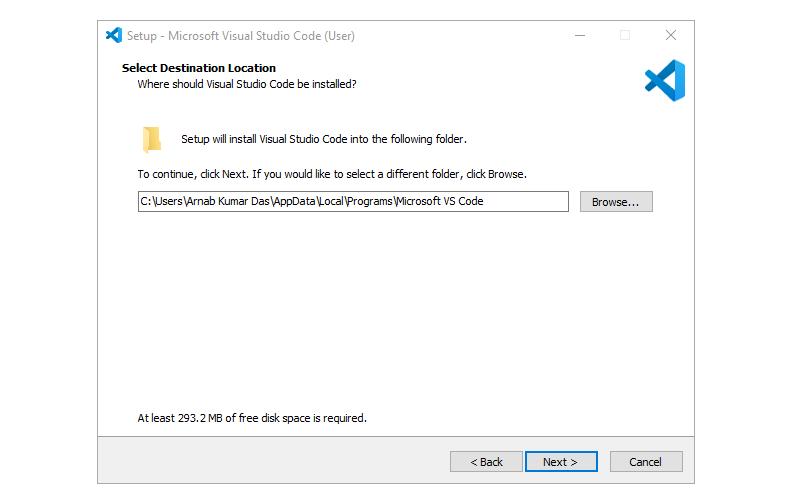 Step 2 : Installing Visual Studio Code