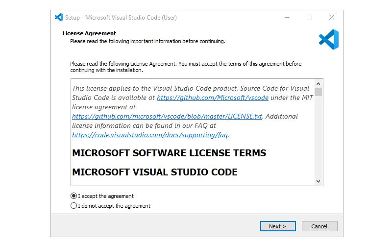 Step 1 : Installing Visual Studio Code