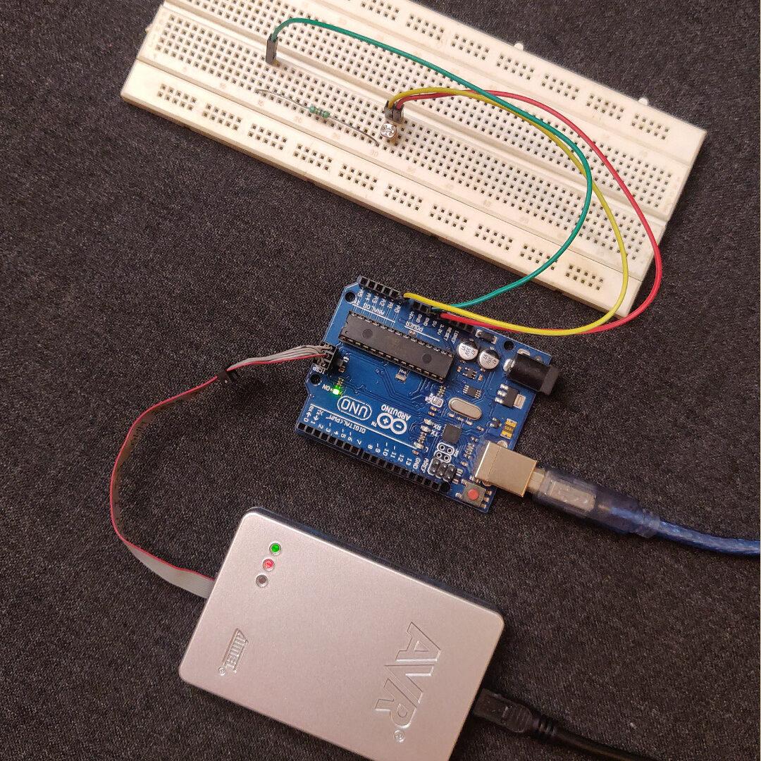 Arduino With Atmel ICE Debugger