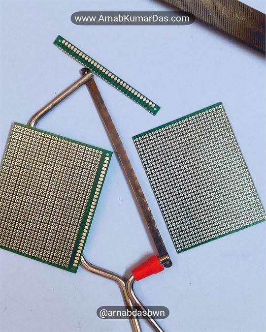Arduino Line Follower Robot V1 Zero PCB / Perf Board Chassis